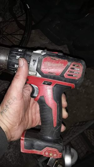 Used in good condition 18 volt Milwaukee drill/driver with 2 batteries just no charger for Sale in Bakersfield, CA
