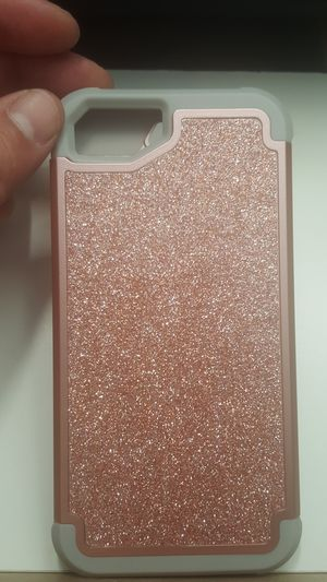 """Case for iphone 7/8 4.7"""" not plus goldrose-gray new 8firm shiping only for Sale in Phoenix, AZ"""