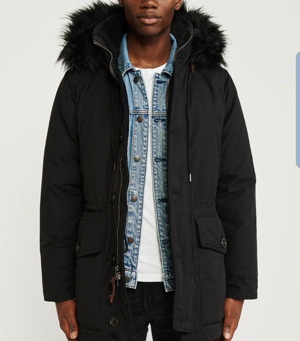 Parka water proof Arbercrombie winter jacket insulated