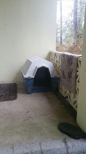 Plastic dog house for Sale in Yorktown, VA
