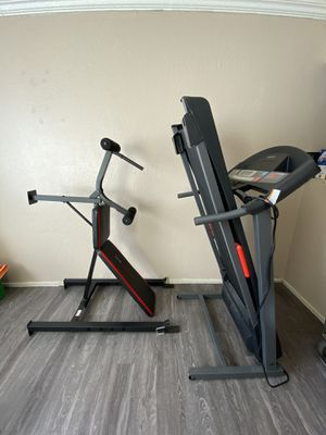 TREADMILL & WEIGHT BENCH $500 OBO for Sale in City of Industry, CA