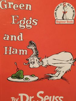 NEW Dr Seuss Green Eggs & Ham book for Sale in Cupertino,  CA