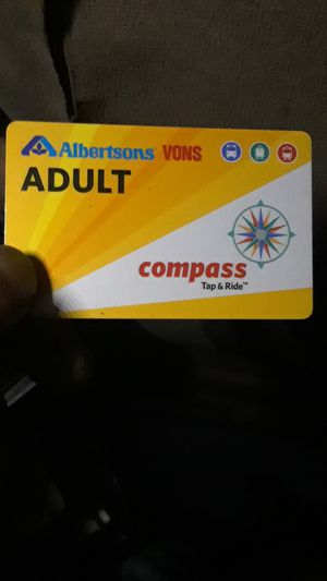 30 fay Adilt MTS transit pass for Sale in San Diego, CA