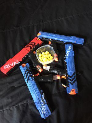 Nerf guns set of 4 for Sale in Nashville, TN