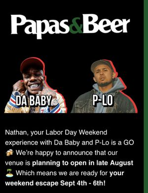 PAPAS AND BEER LABOR DAY for Sale in Covina, CA