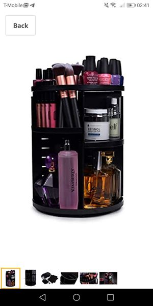 360 rotating makeup organizer-new for Sale in Naperville, IL