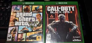 GTA V and Black ops 3 for Sale in Reading, PA