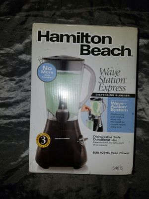 Hamton Beach Wave Station Express Dispensing Blender for Sale in San Diego, CA