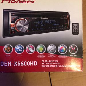 Pioneer DEH-X5600HD CD RDS RECEIVER for Sale in Elk River, MN
