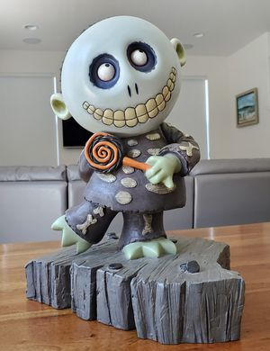 Disney The Nightmare Before Christmas Figure Barrel Big Fig Statue Collectible Figurine for Sale in Placentia, CA
