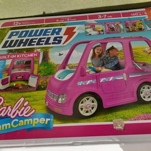 Power wheels Barbie Dream Camper Girls Electric Car for Sale in Arvin, CA