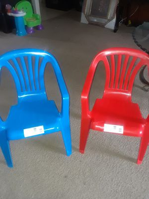 Kids chair never use them both for $8 for Sale in San Antonio, TX
