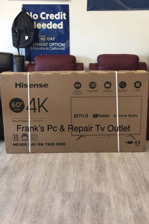 $39 DOWN/ 60 INCH HISENSE 4K SMART TV 📺 for Sale in Chino, CA