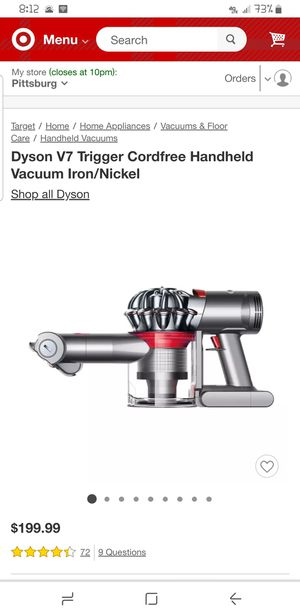 Dyson V7 Trigger for Sale in Antioch, CA