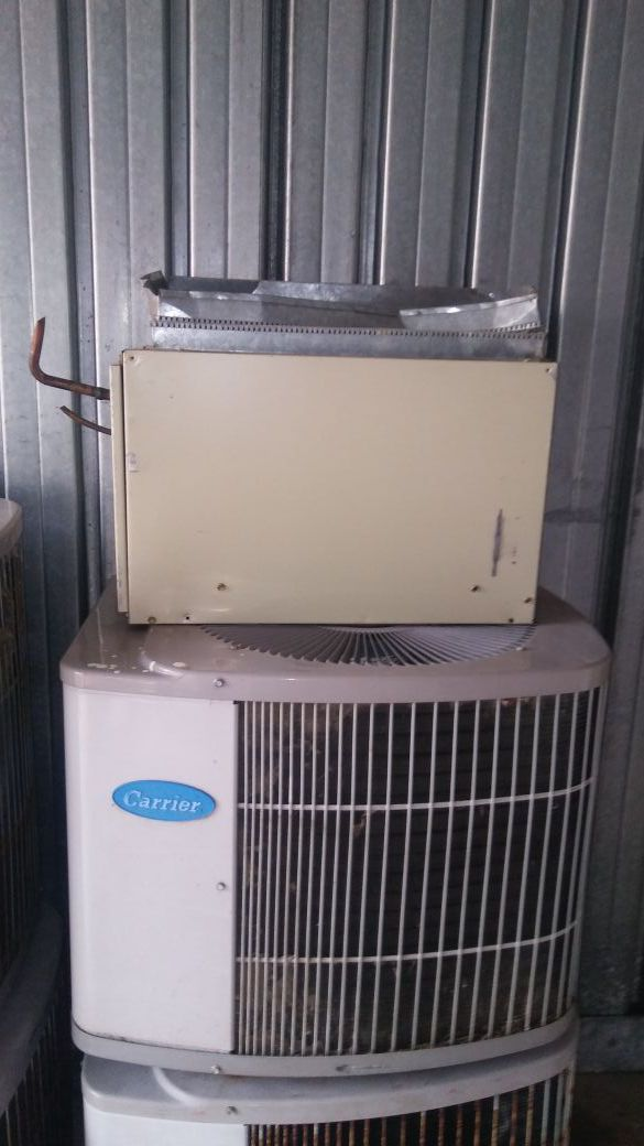 Used CARRIER 2.5 TON Condenser and coil precharged