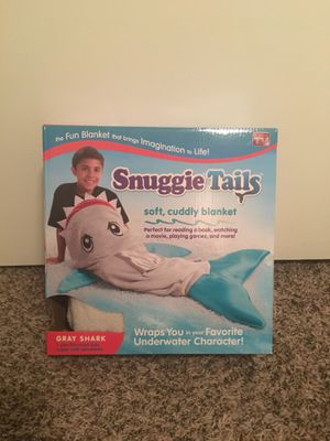 Snuggie Tails - Gray Shark for Sale in Austin, TX