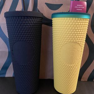 Starbucks-Pineapple & Black Studded Matte - 2 QTY for Sale in Lynnwood, WA