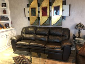 Reclining sofa and love seat for Sale in San Juan Capistrano, CA