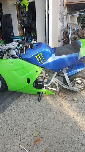 Pocket Rocket/ Pocket Street Bike for Sale in Everett, WA