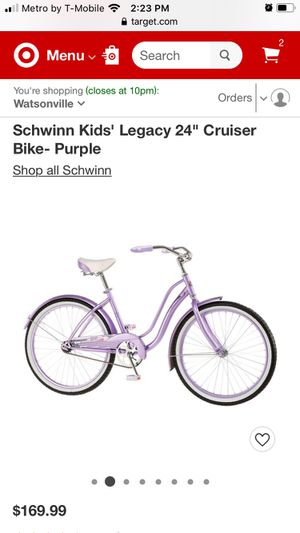 Schwinn Bicycle Legacy Cruiser for Sale in Mount MADONNA, CA