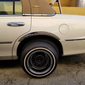 14x7 Lowrider Wire Wheels for Sale in Hialeah, FL