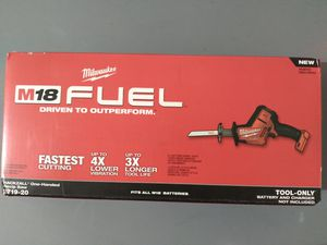 Milwaukee Hackzall Tool Only for Sale in Miami, FL