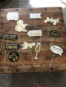 Wedding Photo Booth Props for Sale in El Cajon,  CA