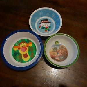 Kid's 3-Piece Bowl Set for Sale in Bristol, CT