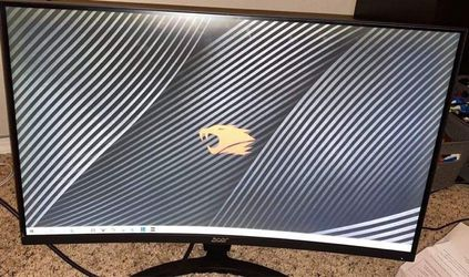 "Acer Gaming Monitor 27"" Curved ED273 Abidpx 1920 x 1080 144Hz Refresh Rate G-SYNC Compatible for Sale in Mukilteo,  WA"