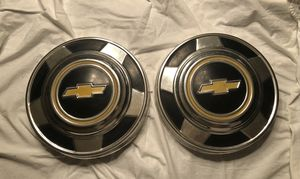 1973-1987 Chevy 1/2 ton truck hubcaps for Sale in Pomona, CA