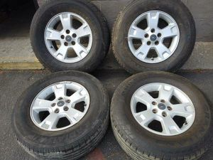 Ford Explorer 16 inch aluminum wheels. Fits Ranger and more for Sale in Montebello, CA