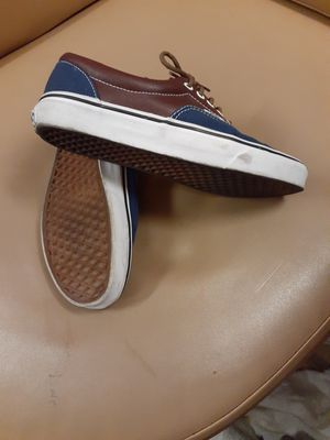 Van's 8.5 blue and brown good condition for Sale in Las Vegas, NV