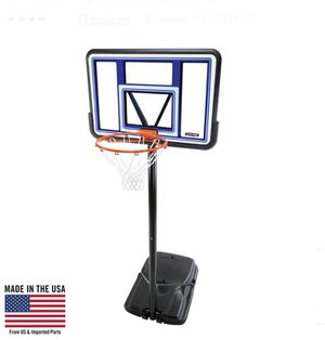 Lifetime Black and Red Basketball Hoop for Sale in Plainfield, IL