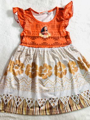 4t and 6x Moana dress $20 each for Sale in National City, CA