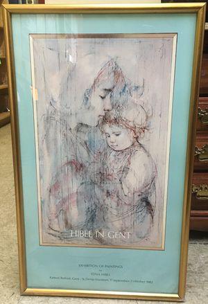 Framed Art by Edna Hibel for Sale in Philadelphia, PA