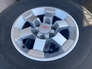 TRD Toyota FJ CRUISER RIMS AND TIRES for Sale in San Diego, CA