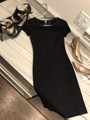 Guess Marciano black dress gold zipper small for Sale in Elmhurst, IL