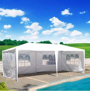 Brand new in box 10 foot by 20 foot canopy, tent, awning, gazebo, carport, easy-to-use. White or blue, carpa for Sale in Phoenix, AZ