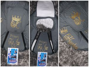 Personalized Infant car seat cover. for Sale in New Orleans, LA
