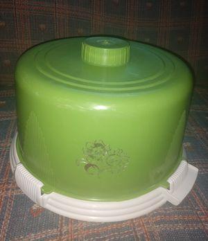 Vintage cake carrier for Sale in Newton, KS