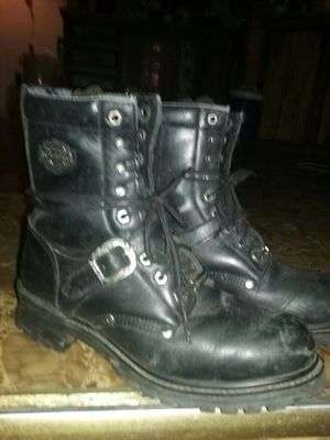 Pair of Harley Davison riding boots size 10 like brand new for Sale in El Dorado, AR