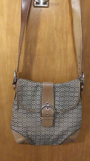 Gorgeous vintage Coach bag, small messenger-style, 12 3/8 x 11 3/4 in. for Sale in Seattle, WA
