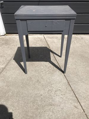Solid Wood Side/Sewing Table for Sale in Royal Oak, MI