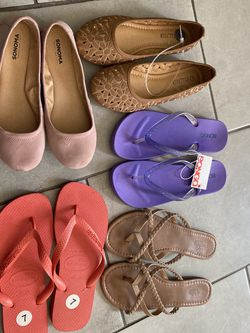 WOMAN SHOES 5 pairs for Sale in Rosemead,  CA