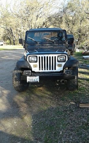 1995 jeep wrangler (open to trades) for Sale in Squaw Valley, CA