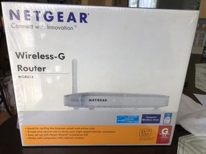 Netgear Wireless G Router WGR614 for Sale in Dale City, VA