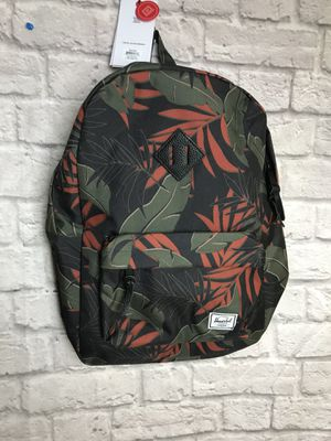 Herschel Supply Company Heritage Dark Olive palm Backpack Womens New NWT for Sale in Chino, CA