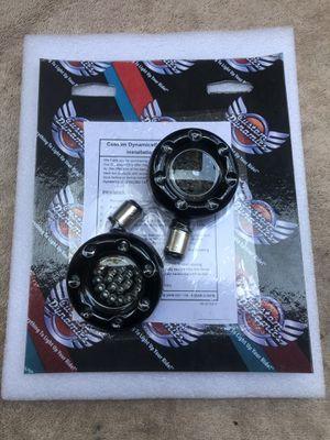 Harley Davidson Custom Dynamics LED Turn Signal Ring 1157 Amber for Sale in Costa Mesa, CA