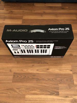 M-AUDIO Axiom Pro 25 USB MIDI Controller for Sale in Los Angeles, CA