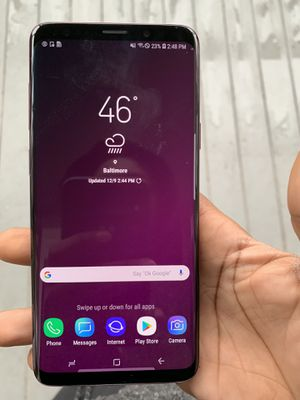 Samsung galaxy s9+ for Sale in Baltimore, MD
